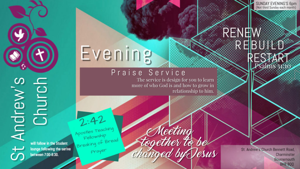 Sunday Evening Youth & Students - St Andrews